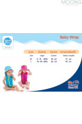 Splash About Baby Wrap size chart