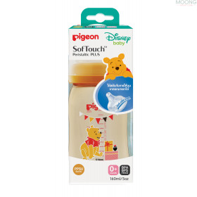 NURSER PPSU POOH 160ML.SOFTOUCH SS