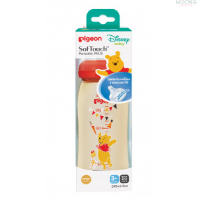 NURSER PPSU POOH 240ML.SOFTOUCH M